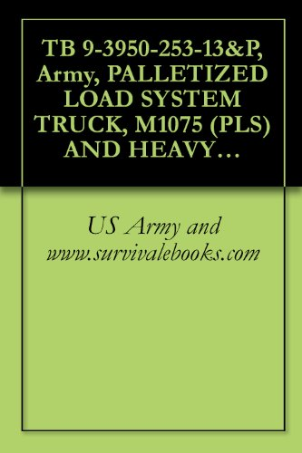 Tb 9-3950-253-13&P, Army, Palletized Load System Truck, M1075 (Pls) And Heavy Expanded Mobility Tactical Truck, M1120 (Hemtt) Enhanced Container Handling Unit (E-Chu), Nsn: 3950-20-003-8784, 2009
