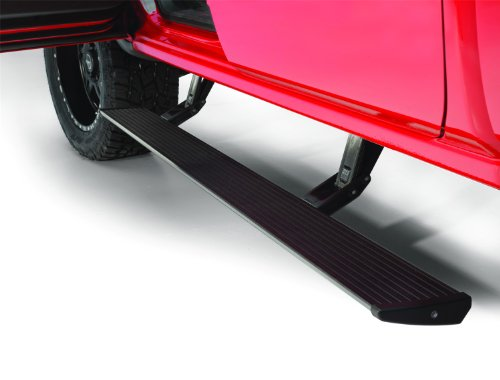 Amp Research (75154-01A) Powerstep Running Board With Light Kit