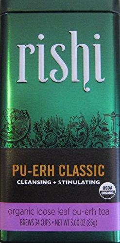 Rishi Tea Pu-erh Classic, 3-Ounce Box (Pack of 3)