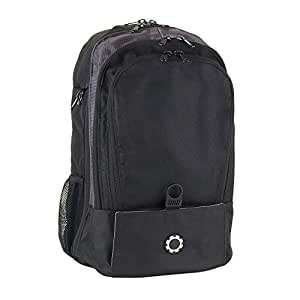 dadgear backpack diaper bag solid black. Black Bedroom Furniture Sets. Home Design Ideas