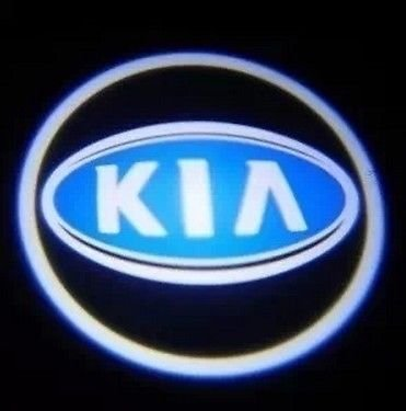 LED CAR OMTEC KIA LASER porta benvenuto luci con LOGO Ghost-LIGHT Shadow