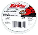 Berkley D20 Steelon Nylon Coated Wire with 20-Pounds Line Test, Bright, 30-Feet