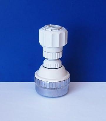 2 Stk Edelstahl Wasserhahn Filter Netz Düse 19mm Innengewinde Strahlregler