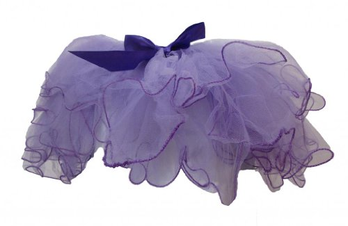 Lavender & Purple Frilly Edge Two-Tone Dance Or Ballet Tutu front-917732