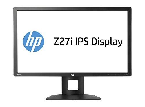 HP Z Z27i D7P92AT 68,5 cm (27 Zoll QHD) Monitor (VGA, DVI-D, HDMI, USB, 8ms Reaktionszeit, 2560 x 1440) schwarz