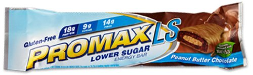 Promax Nutrition Corp Bar, Lo Sugar, Pbtr Choc, 2.36-Ounce (Pack of 12)