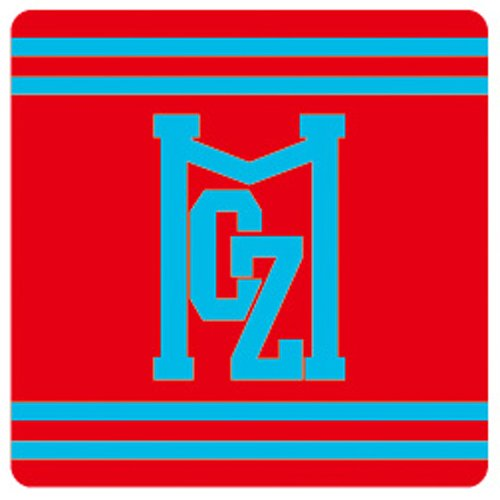 ももいろクローバーZ公式 TEAM☆MCZのリストバンド【百田夏菜子/レッド】ももクロ夏のバカ騒ぎ SummerDive 2012 Tour グッズ