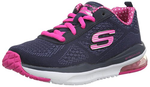 skechers-girls-skech-air-infinity-low-top-sneakers-blue-navy-pink-105-child-uk