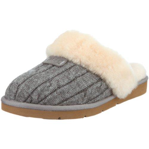 Ugg Cozy Knit , Pantofole, Donna, Grigio (Grau (heathered grey)), 39