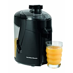 Hamilton Beach 67801 Health Smart Juice Extractor, Black