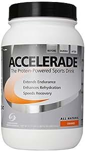 Pacific Health  Accelerade, Orange, 4.11 lb Tub , 60 servings (Pack of 6)