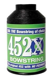 BCY 452X 1 4 lb Black String by BCY