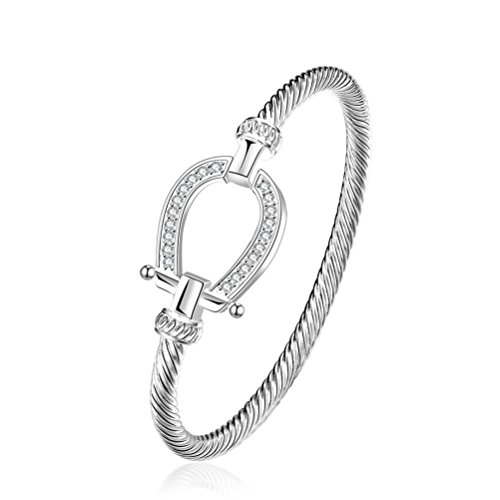 sunifsnow-cordon-torsade-design-simple-plaque-argent-zircon-creative-bracelet