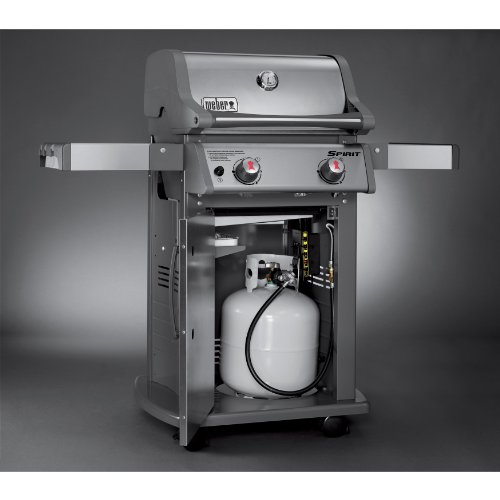 weber 46100001 spirit s210 liquid propane gas grill stainless steel ebay. Black Bedroom Furniture Sets. Home Design Ideas