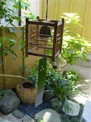 carillon vent japonais en bambou cage miyabi andon jardin. Black Bedroom Furniture Sets. Home Design Ideas