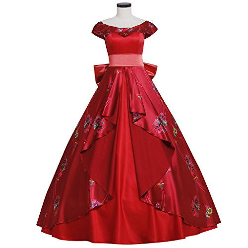 CosplayDiy Women's Dress for Elena of Avalor Princess Elena Cosplay Adult