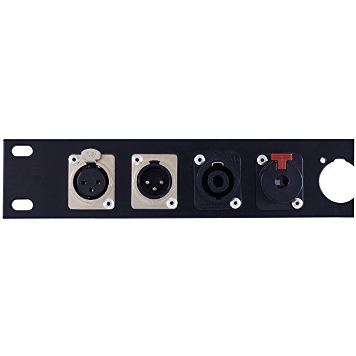 Blank xlr patch panels