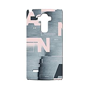 BLUEDIO Designer Printed Back case cover for LG G4 Stylus - G6814