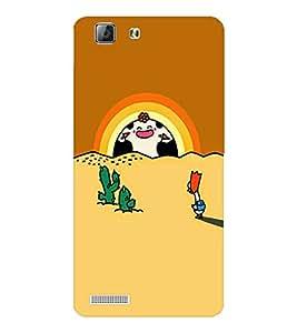 EPICCASE Happy sunrise Mobile Back Case Cover For LENOVO A6600 (Designer Case)