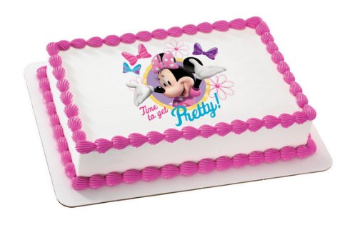 Minnie Mouse Edible Cake Topper Decoration