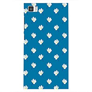 Back cover for Xiaomi Mi3 Floral-6