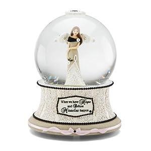 "Amazon.com: Modele Hope Musical Water Globe with Tune ""Wind Beneath My"