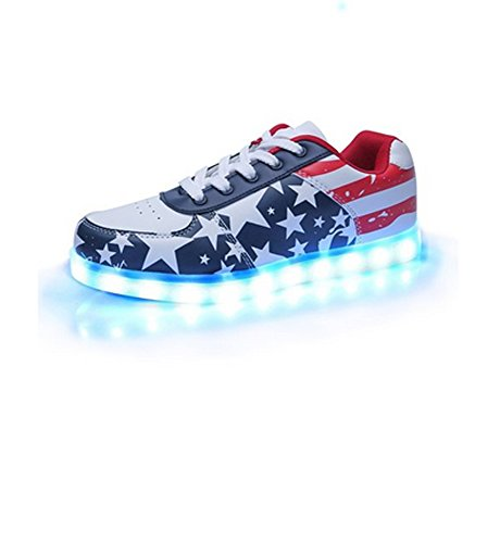 Couple-Women-USB-Charging-LED-Shoes-Flashing-Sneakers-Fashion-7-Color-Glowing-Leisure-Flat-Lovers-Shoes