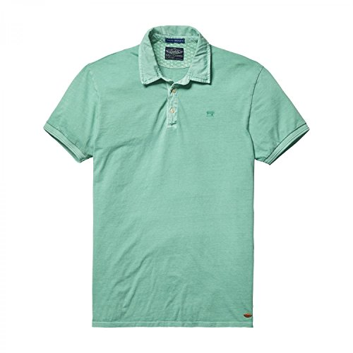 Scotch & Soda -  Polo  - Uomo verde menta