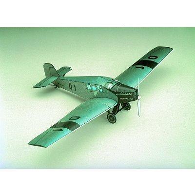 Kartonmodellbau - Junkers F 13