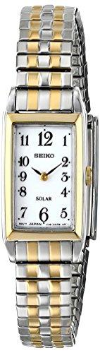 Seiko Women's SUP228 Analog Display Japanese Quartz Two Tone Watch