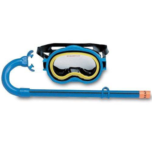 Hummelladen || Taucher Set für Kinder mit Schnorchel und Sicherheitsglas Schwimmbrille || Tauchermaske Taucherbrille Schnorcheln Set Kinder Schnorchelset