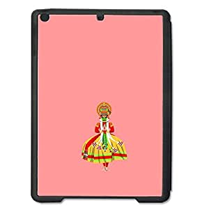 Skin4gadgets Indian Classical Art - Kathakali, Color - Salmon Tablet Designer SMART CASE for IPAD AIR2