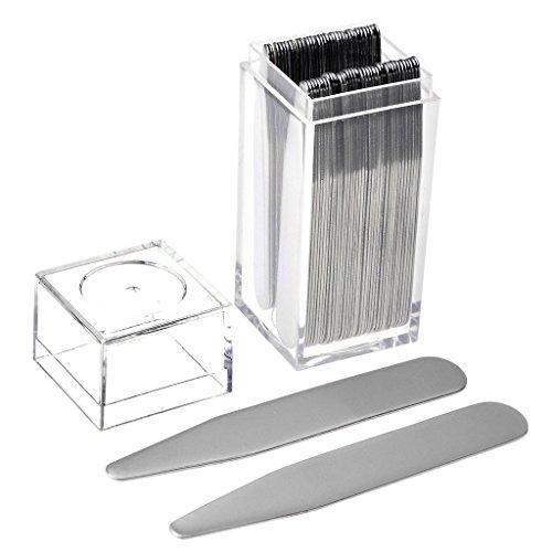 PiercingJ 36 Metal Collar Stays in a Clear Plastic Box 2.2