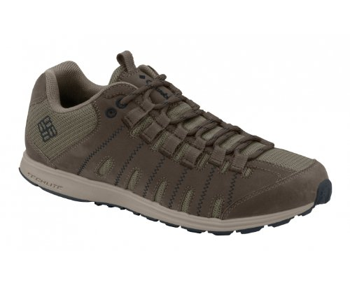 COLUMBIA Master Fly Low LT Men's Trail Running Shoes, Brown, UK6.5