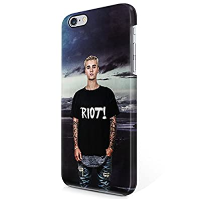 Justin Bieber Riot Nature iPhone 6, iPhone 6S Hard Plastic Phone Case Cover