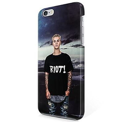 Justin Bieber Riot Nature iPhone 6 Plus & iPhone 6S Plus Hard Plastic Phone Case Cover