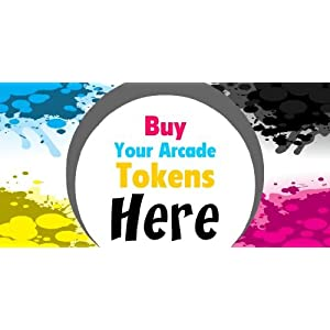 3x6 Vinyl Banner Buy Your Arcade Tokens Here on PopScreen