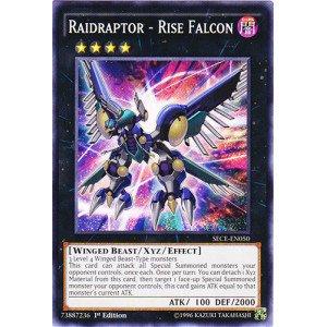 Yu-Gi-Oh! - Raidraptor - Rise Falcon (SECE-EN050) - Secrets of