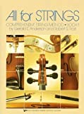 All for Strings: Comprehensive String Method, Book 1 (CELLO) [Paperback] [1985] Gerald E. Anderson, Robert S. Frost