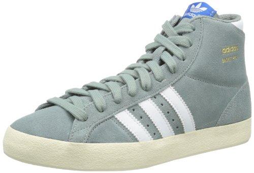 adidas  Basket Profi,  Sneaker a collo alto uomo, Grigio (Grau (St Bluegrass F13 / Running White Ftw / Ecru)), 43 1/3