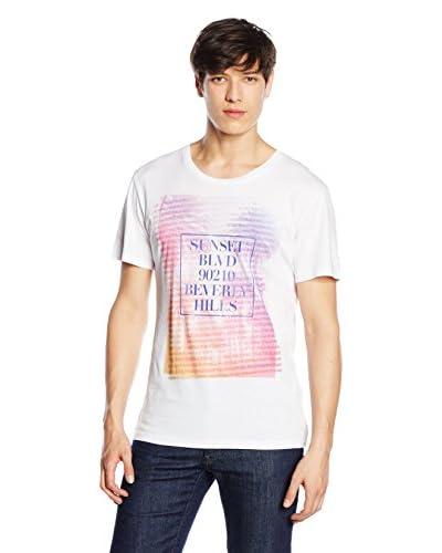 Trussardi Jeans Camiseta Manga Corta Blanco