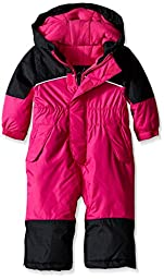 iXtreme Baby Girls\' One Piece Snowmobile, Berry, 24 Months
