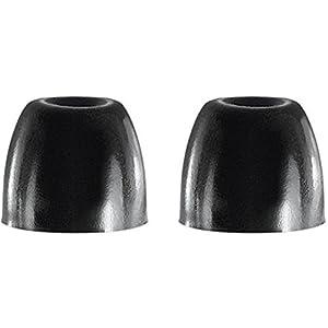 Shure EABKF1-10M Medium Foam Sleeves (10 Included/5 Pair) for E3c, E4c, E5c, E500PTH, i3c, i4c & SE Earphones (Black)