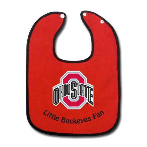 Ohio State Buckeyes Full Color Snap Bib Single - Team Color Body front-1069034