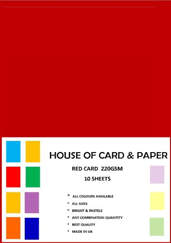 a4-red-craft-card-220gsm-10-sheets