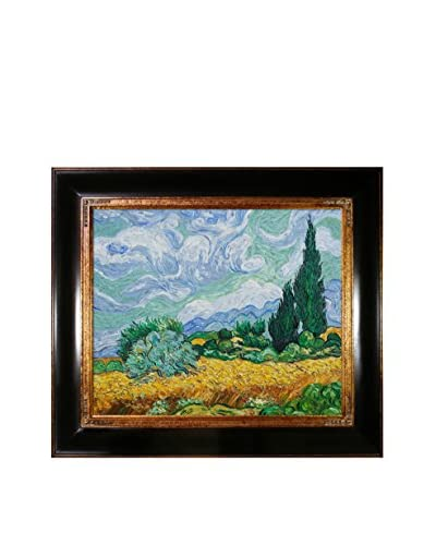 Vincent Van Gogh Wheat Field With Cypresses Hand-Painted Reproduction