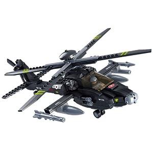 空军系列运输飞机拼装积木玩具