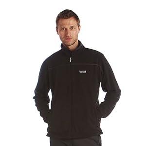 Regatta Mens Fairview Full Zip Warm Fleece Jacket Black M, L, XL, XXL
