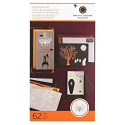 Martha Stewart Crafts Halloween Foil Transfer Kit By The Package