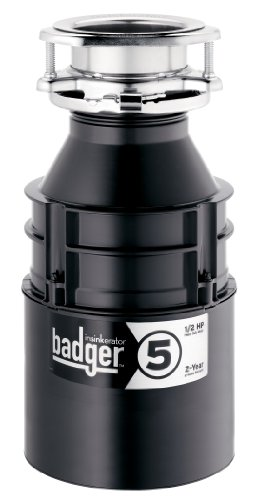 InSinkErator Badger 5 1/2 HP Household Garbage Disposer